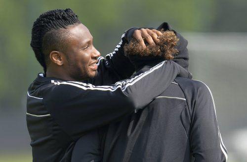 John Obi Mikel erfuhr kurz vor dem Spiel gegen Argentinien von der Entführung. RTS