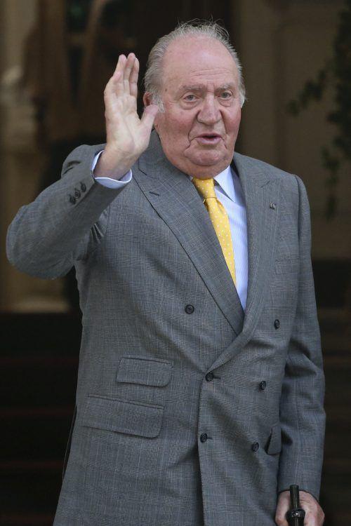 Juan Carlos hat die Immunität verloren. Er könnte also angeklagt werden. Ap