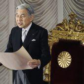 Japan sorgt sich um die Gesundheit von Kaiser Akihito