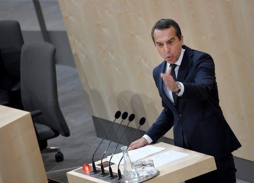 Kern:Vorgehensweise von ÖVP und FPÖist ein Schlag ins Gesicht.APA