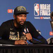 Kevin Durant hat bei denWarriors verlängert