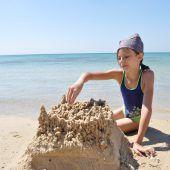 Der Sand muss am Strand bleiben