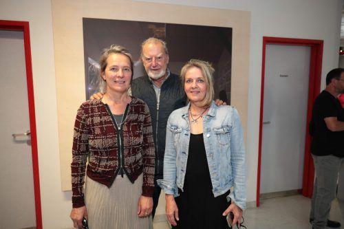 Kornelia Rhomberg, Angelo Roventa und Edith Hofer.