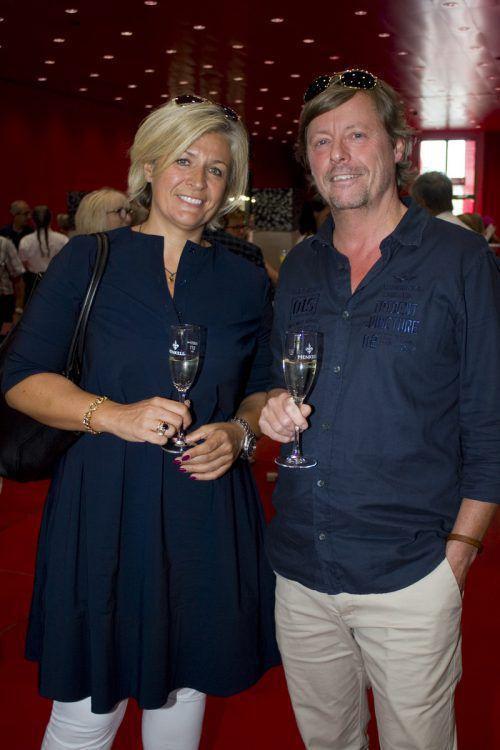 Kunstfreunde: Ursula und Thomas Griessmayer.