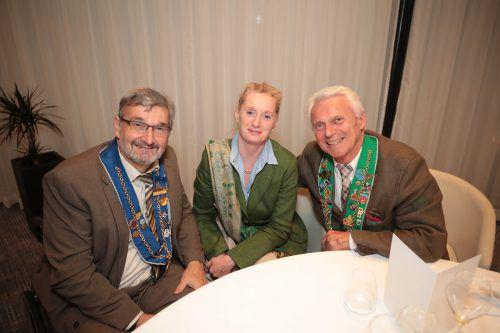 Laudator Ernst Heindl, Brigitte und Johannes Seiler. AME