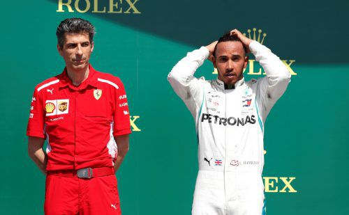 Lewis Hamilton nahm die Entschuldigung von Kimi Räikkönen an.reuters