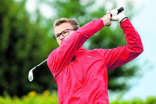 Lucas Hepberger entschied in Brand das Duell um den Golftitel gegen Claus Jäger für sich.vn/lerch