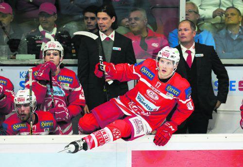 Manuel Ganahl springt in eine neue Eishockeywelt. Der Montafoner stürmt in der kommenden Saison in Finnland für Lahti.gepa