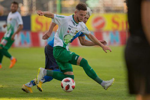 Marcel Canadi ist einer jener Spieler im Austria-Team, die in dieser Saison den Unterschied ausmachen können.VN-Stiplovsek
