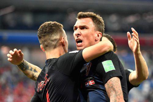 Mario Mandzukic und Kroatien könnten als Finalisten für ein Novum sorgen.afp