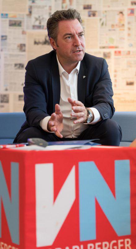 Markus Stadelmann ist Landesdirektor der Uniqa in Vorarlberg. VN/Stiplovsek
