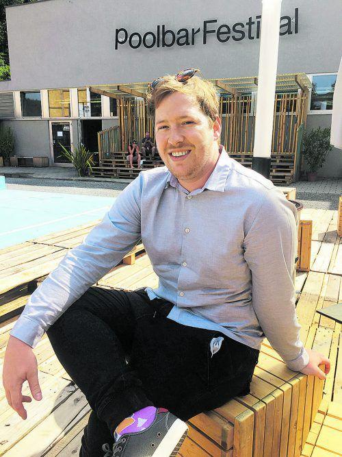 Matthias Moosbrugger ist seit neun Jahren Teil des Poolbar-Teams. VN/TAG