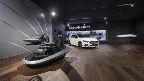 """Mercedes-Benz und """"Modern Luxury"""". Reduktion auf das Wesentliche und eine Kombination aus Hightech und Handwerkskunst sind das Versprechen."""
