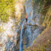 Wasserfälle, Seilbrücken und herrliche Aussichten