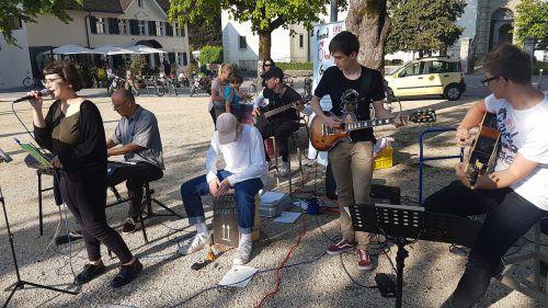 Mit Sound ohne Grenzen möchte der Verein Musikgruppen zu Auftrittserfahrungen verhelfen.
