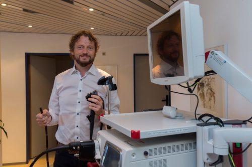 Mositech-Gründer und -Geschäftsführer Christof Moosbrugger ist stolz auf das erreichte Ziel. VN/paulitsch