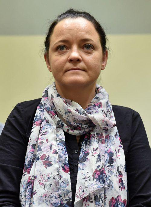 Nach fünf Jahren könnte für Beate Zschäpe das Urteil fallen. AFP