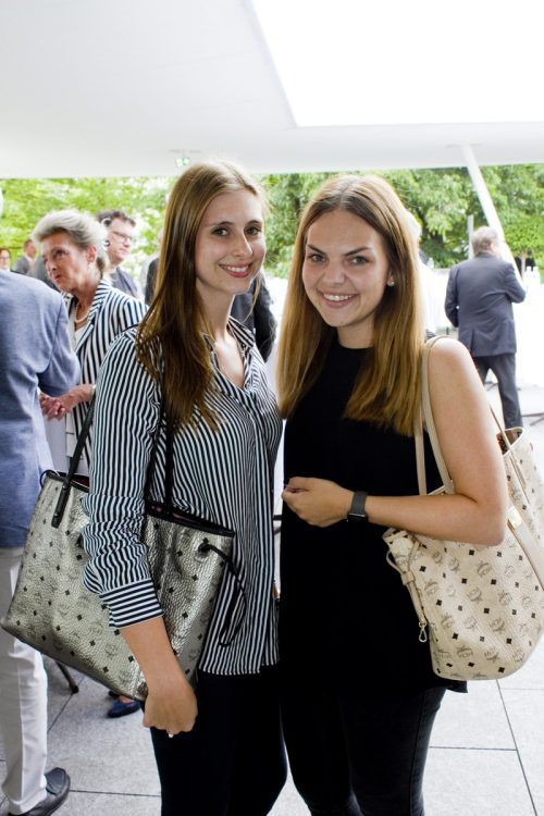 Nadine Steinbauer (Sparkasse Bregenz) und Alessa Ritter (i+R).