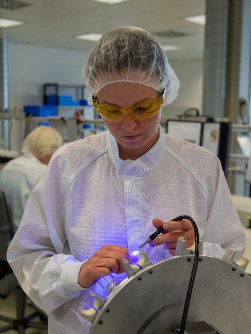 Neben der Entwicklung punktet A.M.I. bei den Produkten auch in der Fertigung mit einer sehr hohen Innovationskraft. VN/lerch