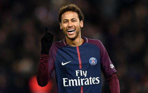 Neymar bestätigte seinen Verbleib bei Paris St. Germain.afp