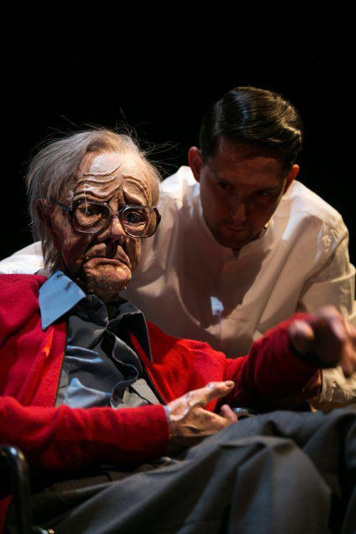 Nikolaus Habjan tritt mit seinen Puppen erneut bei den Bregenzer Festspielen auf.l. spuma/Schauspielhaus graz