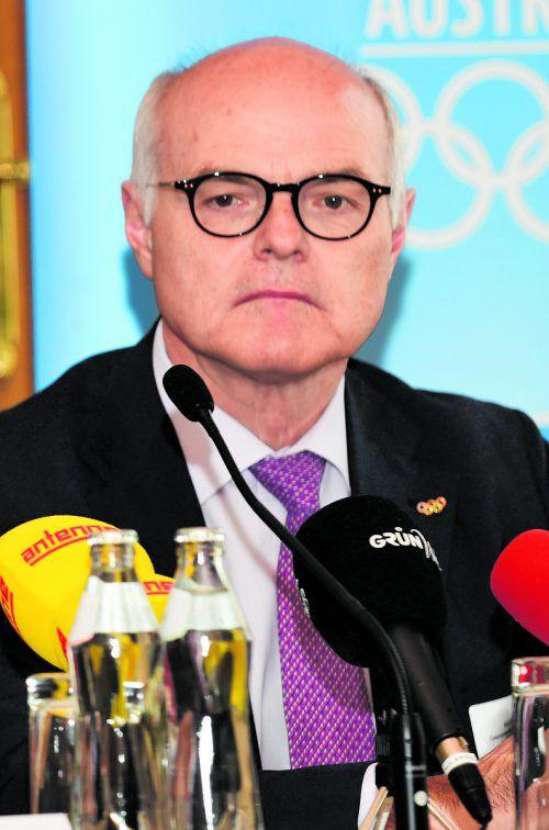ÖOC-Präsident Karl Stoss vermisst in der Steiermark die Unterstützung. gepa