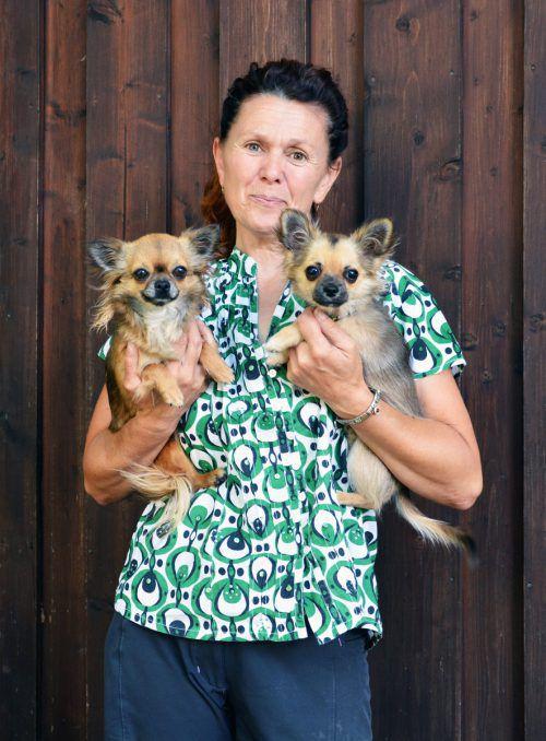 Organisatorin Marlene Rudigier züchtet selbst seit Jahren Chihuahuas. cro