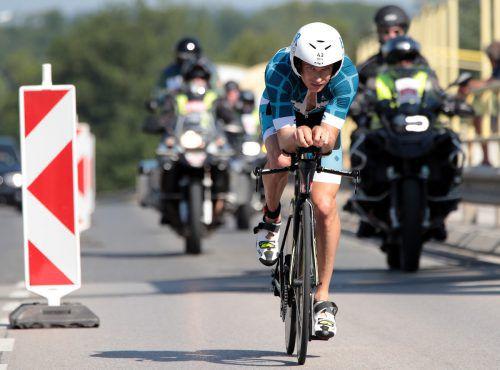 Paul Reitmayr belegte nach Problemen Rang 14 in Klagenfurt.GEPA