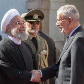Ruhani trifft in Wien Regierungsspitze