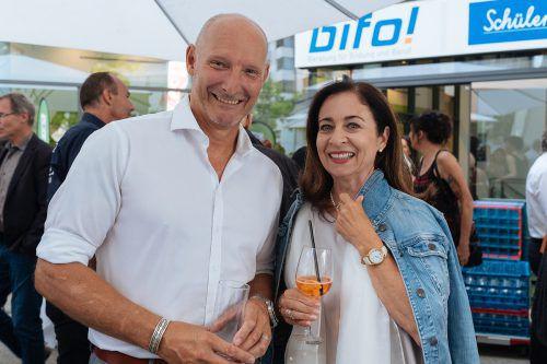 Ralf Althoff und Barbara Mathis beim Kursleiterfest.