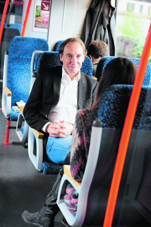 Rauch forciert Fußgängerzonen, Radwegenetz sowie beste Abstimmung von Bus und Bahn mit hoher Taktung.