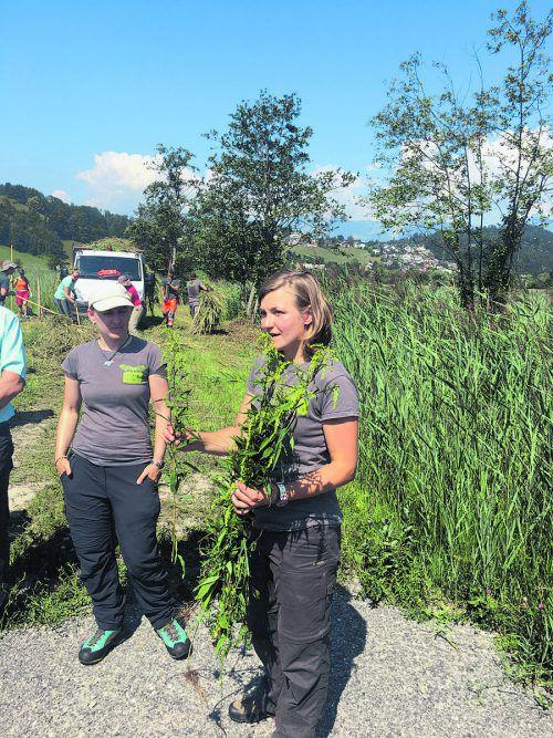 Regionsmanagerin Romana Steinparzer organisierte den Vielfaltertag.
