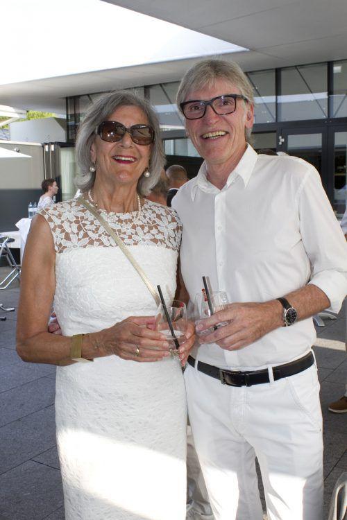 Rita und Raiba-Vorstand Wilfried Hopfner.