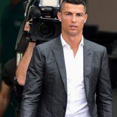 Ronaldo bei Juveim Trainingsbetrieb