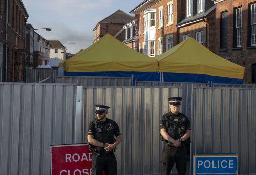 Rund 100 Ermittler der Anti-Terror-Polizei sollen den Fall klären. AP