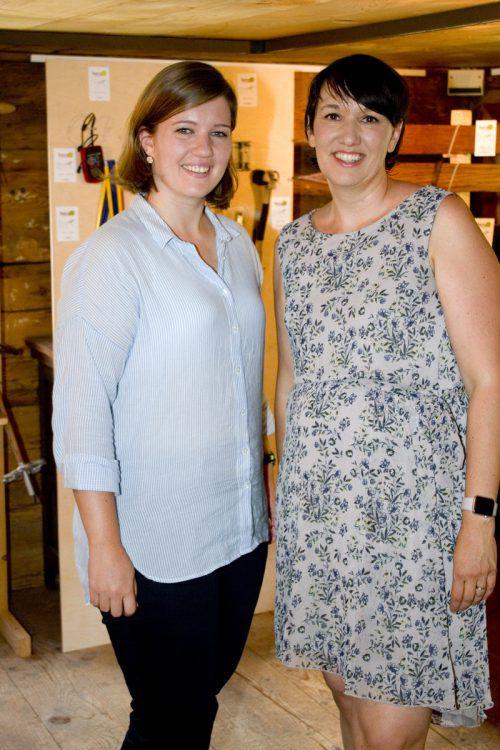 Sarah Nachbaur (l.) und Kerstin Biedermann-Smith.