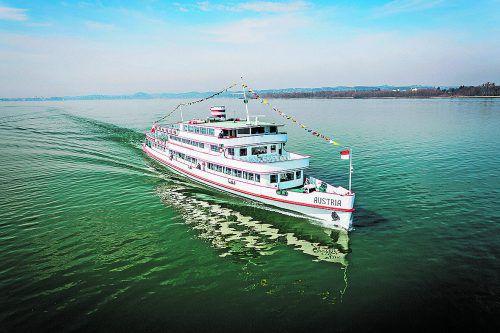 Schiff ahoi für die VN-Frühstücksfahrt mit den Vorarlberg Lines heißt es täglich von Montag bis Samstag um 9.10 Uhr ab Bregenz Hafen. fasching