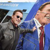 Wiener Linien versteigern Arnie-Autogramm