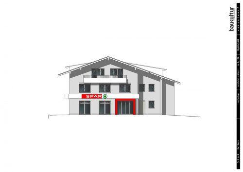 Sehr vorsichtig wird das bisherige Gebäude der Sparkasse für den neuen Zweck adaptiert. Eröffnung soll noch heuer sein. BS