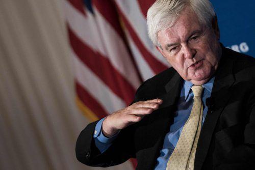 Selbst Newt Gingrich, einer der größten Trump-Unterstützer, kritisierte den Kuschelkurs des US-Präsidenten mit Putin. reuters