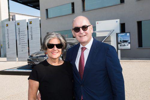 Spar-Aufsichtsrat Guntram Drexel mit Elisabeth.