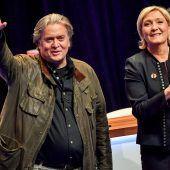 Bannon will EU-Wahl aufmischen