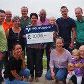 30.000 Euro für Geben für Leben
