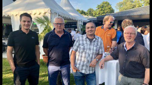 Thomas Dietsche, Jimmy Lüchinger und Bernd Hager.