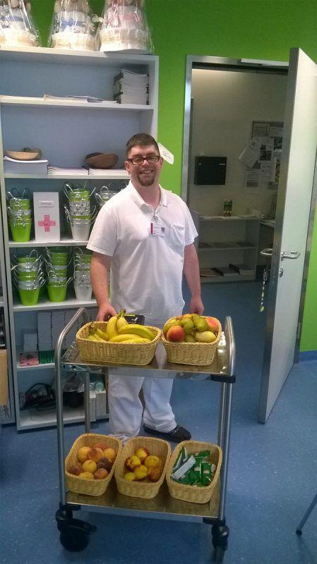 Tobias Renoth liebt seine Arbeit im Spital.