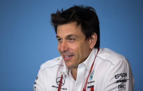 Totos Wolffs Mercedes-Mannschaft steht am Wochenende beim Grand-Prix in Hockenheim auf dem Prüfstand. gepa