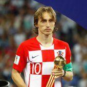 Auch der Goldene Ball konnteLuka Modric nicht trösten