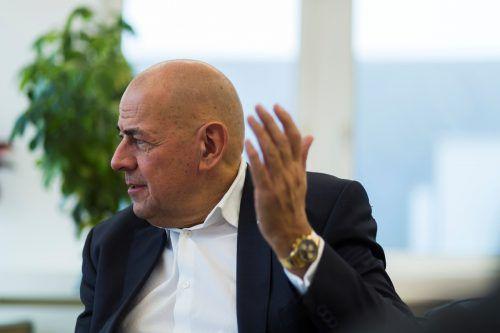 Ulrich Schumacher sieht sich mit weiterem Ungemach konfrontiert.VN/Paulitsch