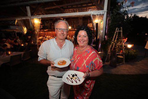 Unter den vielen Gästen waren Walter und Gerda Ströhle.