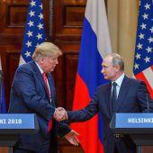 Trump lädt Putin ins Weiße Haus ein